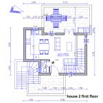 floor plan site house 2 first floor