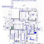floor plan site house 2 ground floor