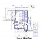 floor plan site house 3 first floor