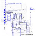 floor plan site house 3 ground floor