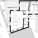Floor Plan 01 First floor 77 Sq.m