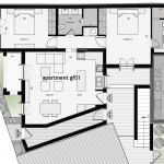 Floor plan 01 RDC 90 Sq.m