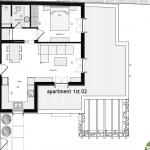 Floor plan 02 First floor 57 Sq.m