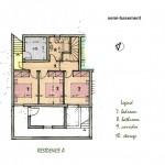 residence A semi basement