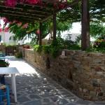veranda with garden view