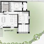 Floor plan 02 RDC 83 Sq.m